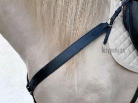 Black western breastplate