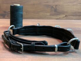 noseband with chain