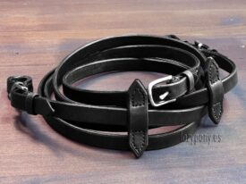 leather bridle reins